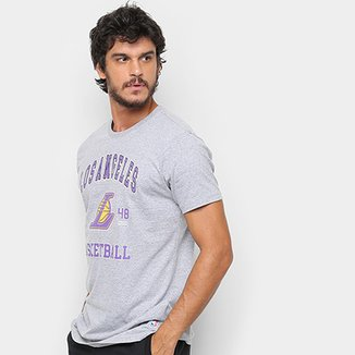 Camiseta NBA Los Angeles Lakers College Masculina f3b0900dc0c