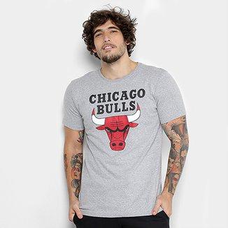 Camiseta NBA Chicago Bulls Big Logo Masculina 9cb300b72fb7f