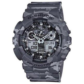 c98618713c3 Relógio Casio G-Shock GA-100CM-8A Militar