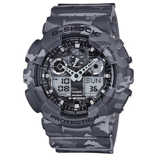 5aaea43b15c Relógio Casio G-Shock GA-100CM-8A Militar - Compre Agora