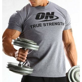 0ac977257 Camisetas Optimum Nutrition - Fitness e Musculação