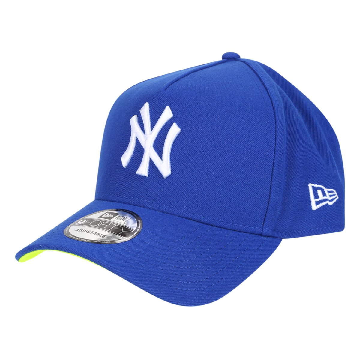Boné New Era MBL New York Yankees Aba Curva Snapback Urban Tech World Ligth 9Forty