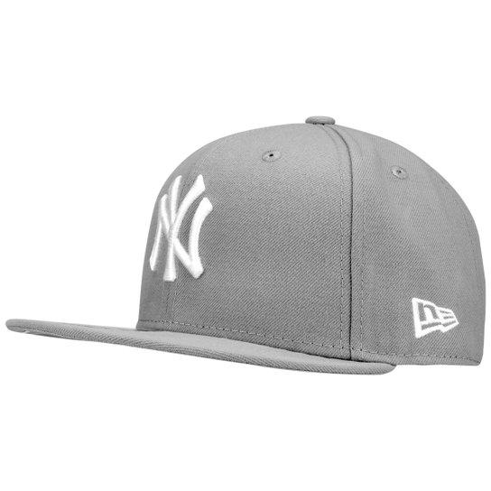Boné New Era 5950 New York Yankees - Cinza - Compre Agora  2360d41b40d77