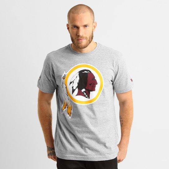 9b14a32f5 Camiseta New Era NFL Washington Redskins - Cinza - Compre Agora ...