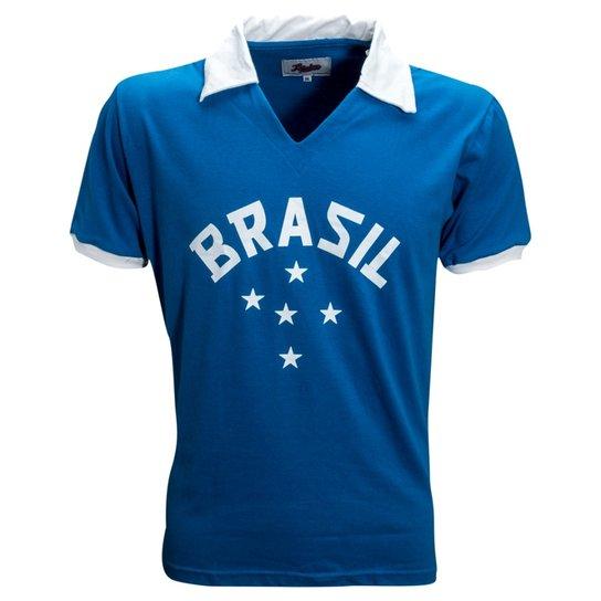 b4aaa847988 Camisa Liga Retrô Brasil 1952 - Compre Agora