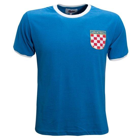 ba98d5af92 Camisa Liga Retrô Croácia 1990´s - Azul Royal - Compre Agora