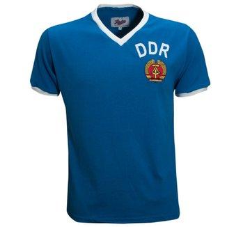 Camisa Liga Retrô DDR 1974 (Alemanha Oriental) a3fd63b786ce8