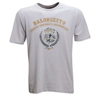 9bcdb21e39 Camisa Liga Retrô Vintage Baloncesto 1930