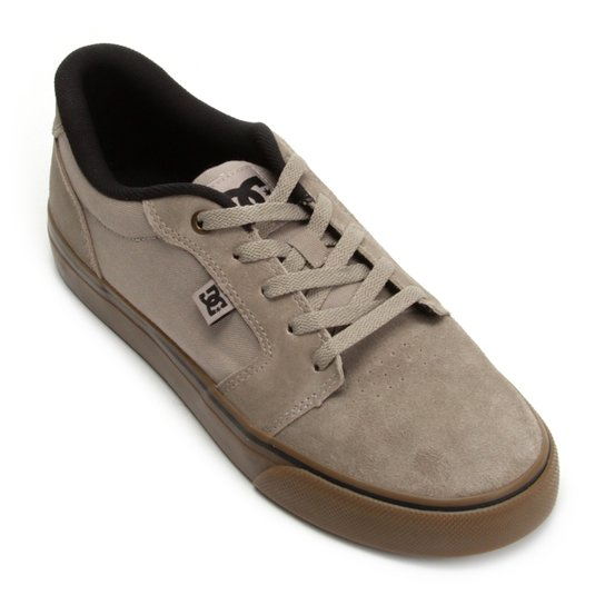 0a034a8180 Tênis DC Shoes Anvil La Masculino - Cinza - Compre Agora