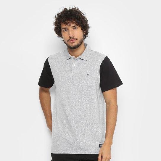 Camisa Polo DC Shoes Basic Masculina - Cinza - Compre Agora  abe7985cca5