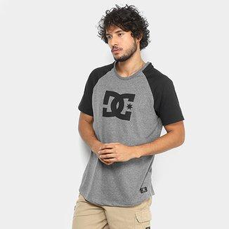 1c87c80d8c1de Camiseta DC Shoes Especial Star Raglan Masculina
