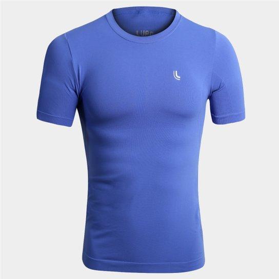 39f32f56da245 Camiseta de Compressão Lupo Sport I-Power - Azul Royal - Compre ...