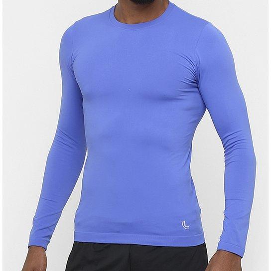 Camiseta Térmica Lupo Sport Run - 70045-001 - Azul Royal - Compre ... 77faab047d07c