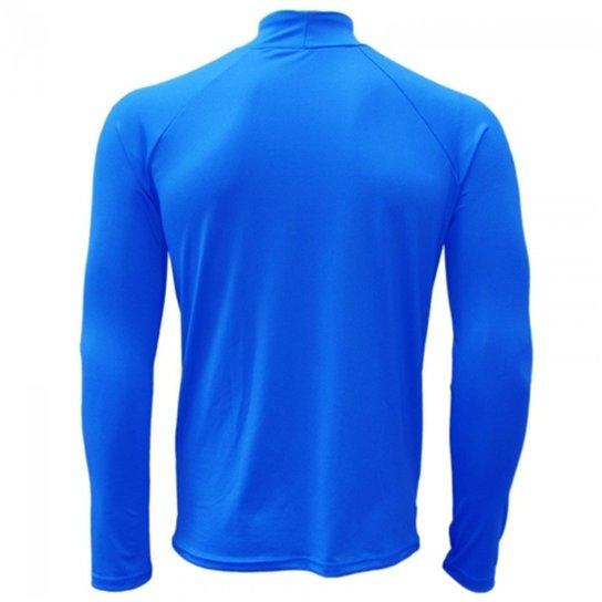 86c65696d0e00 Camisa térmica Reusch Underjersey G A - Azul Royal - Compre Agora ...