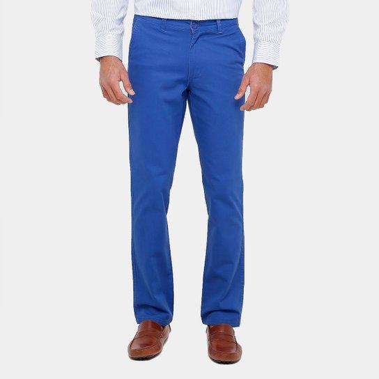 Calça Slim Blue Bay Sarja Color Masculina - Compre Agora  4dbe5dc8dc6