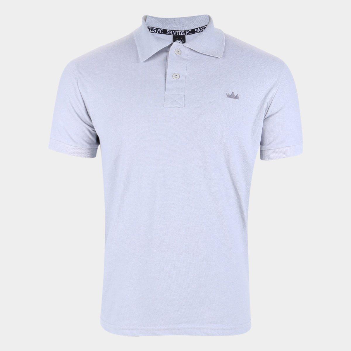 Camisa Polo Santos Crown Masculina