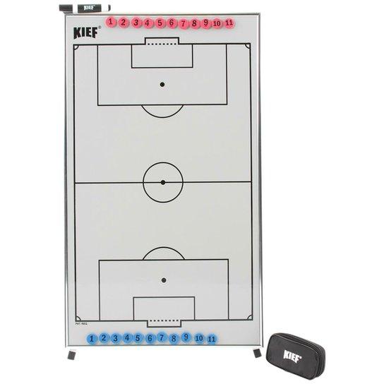 43cac070bb Quadro Tático Magnético Futebol de Campo c/ Tripé - Gelo+Preto