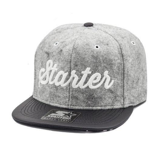 Boné Starter Aba Reta Snapback Flanel - Compre Agora  1397ffa0d5a