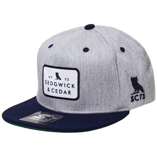 Boné Starter Aba Reta Snapback Sedgwick   Cedar 2Tone Ny73 - Compre ... 38022ba6296