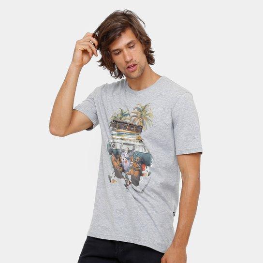 Camiseta Lost Monks Skull Masculina - Compre Agora  791515e6bfc4f
