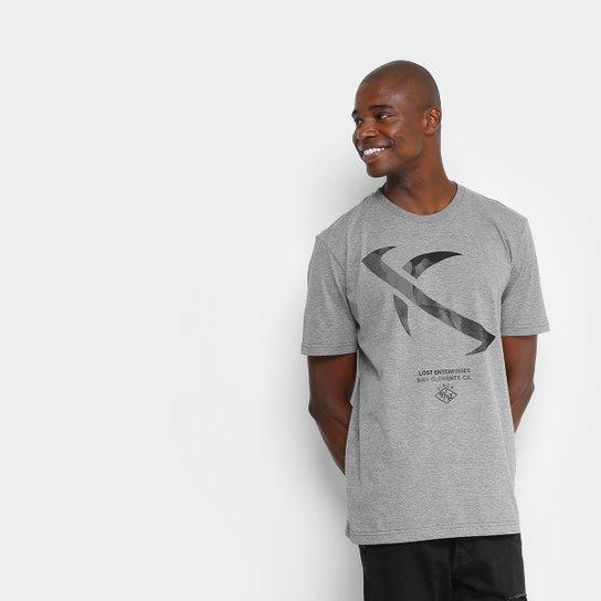 Camiseta Lost Eclipse Masculina - Cinza - Compre Agora  043f142277008