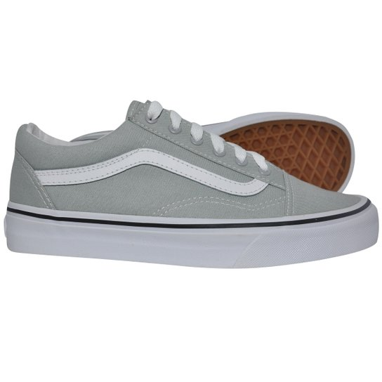 Tênis Vans Old Skool Canvas High Rise True White - Compre Agora ... fa2c4139337