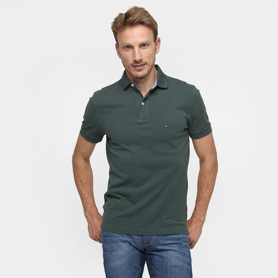 Camisa Polo Tommy Hilfiger Piquet Básica - Compre Agora  03e0f8c4d0581