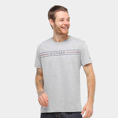 Camiseta Tommy Hilfiger Ab Corp Tee Masculina