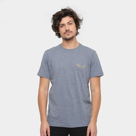 Camiseta Volcom Silk Slim Bolder Masculina - Cinza - Compre Agora ... 95fc6dd8a17