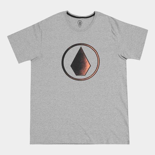 Camiseta Volcom Plus Size Silk Removed Masculina - Cinza - Compre ... 0f51009a002