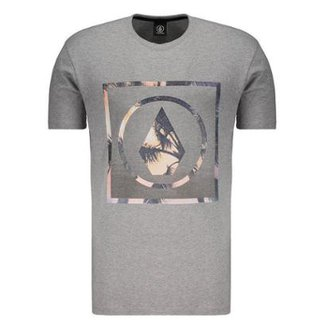 Camiseta Volcom Silk Stone Palms Solid Masculina ecfff41012f1f