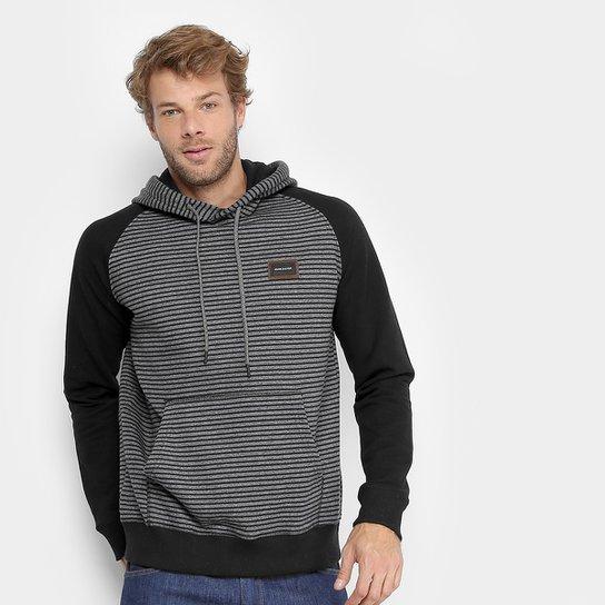 Moletom Quiksilver Especial Stripes Hood Masculino - Compre Agora ... e20881505a