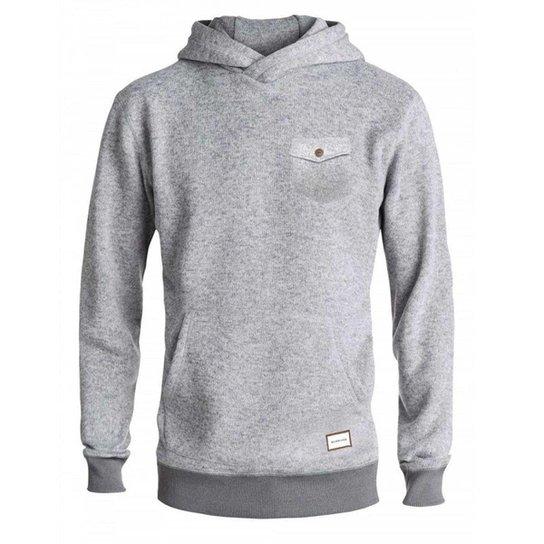Blusa Moletom Especial Quilsilver Keller Hood Masculino - Cinza ... e550e42b75