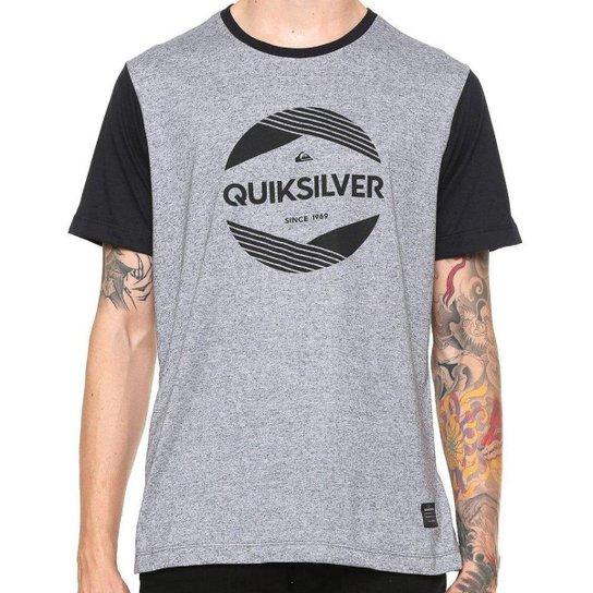 32881957915e4 Camiseta Quiksilver Especial Pack Avant - Cinza - Compre Agora ...