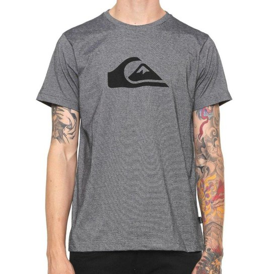 Camiseta Quiksilver Especial M Wave Stripes Masculina - Cinza ... 681ed40538