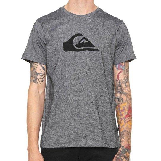 Camiseta Quiksilver Especial M Wave Stripes Masculina - Cinza ... 681ed40538