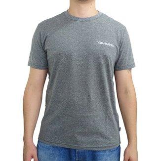 3d592a508e Camiseta Vida Marinha Manga Curta