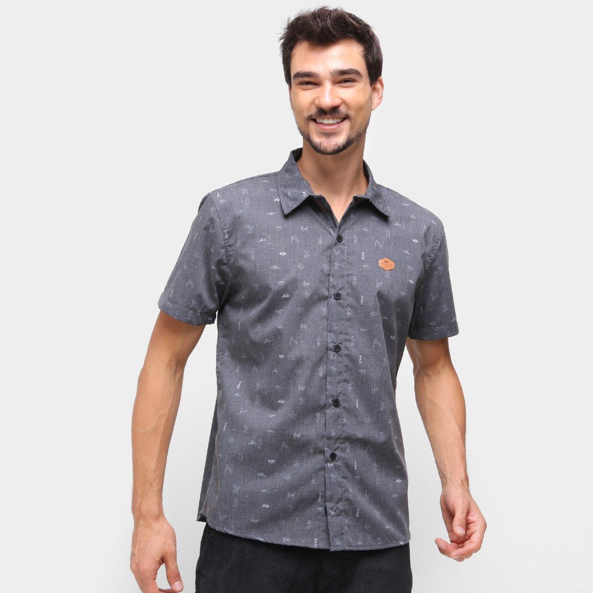 Camisa Natural Art Icones Masculina