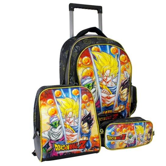 a6289135e Kit Escolar Clio Dragon Ball Z - Mochila, Lancheira e estojo | Netshoes