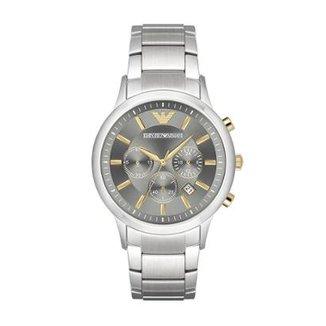 ec919c8df90 Relógio Empório Armani Masculino Renato - AR11047 1CN AR11047 1CN