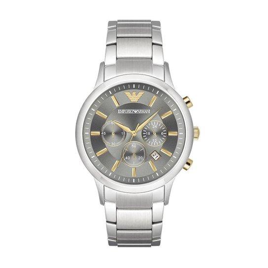 adbb6b40af9 Relógio Empório Armani Masculino Renato - AR11047 1CN AR11047 1CN - Cinza