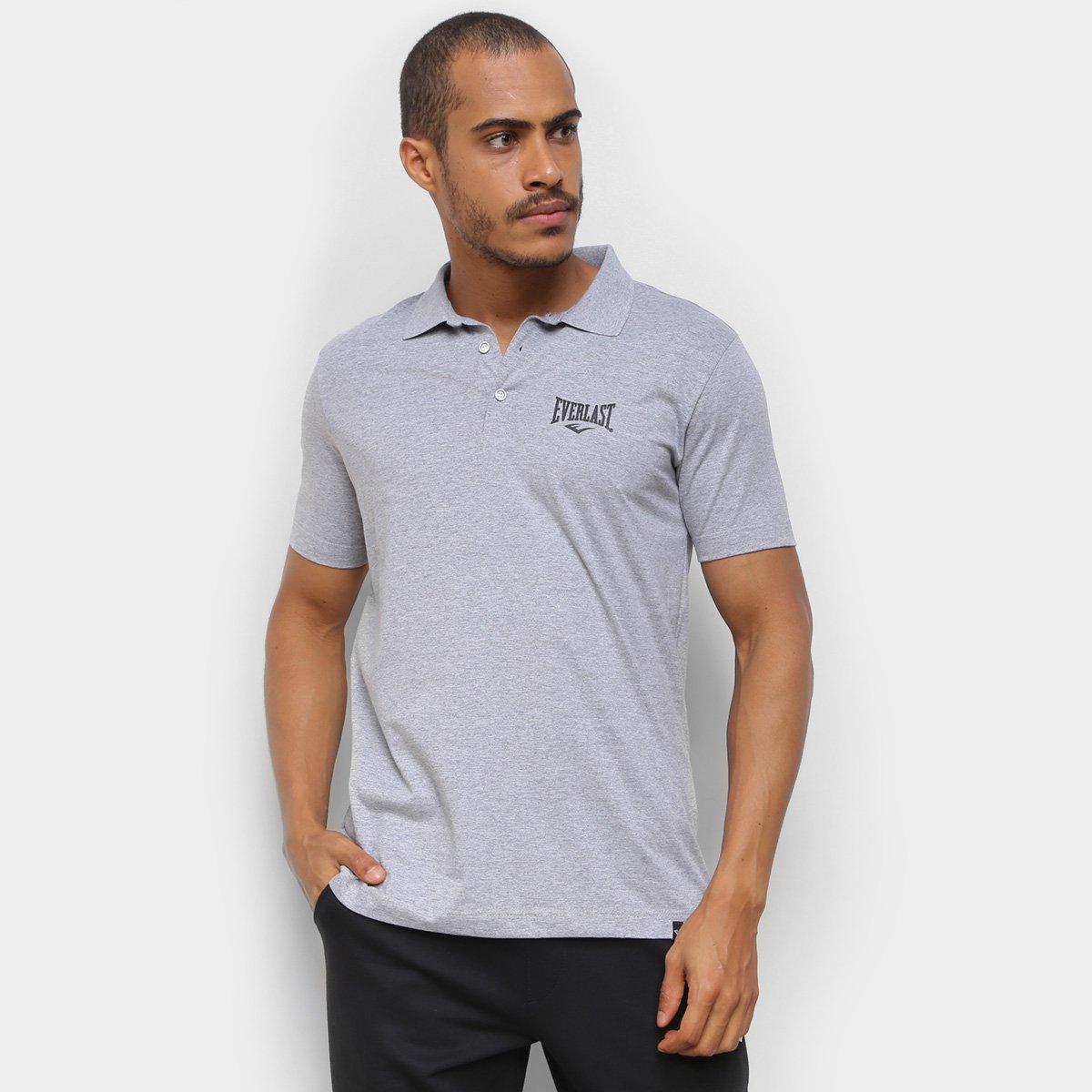 Camisa Polo Everlast Mini Logo Básica Masculina