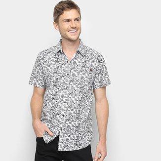 Camisa Manga Curta Ecko Ulina Bicolor Masculina e0772e6a4c29e