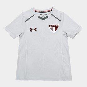 4fc6c9073f0 Kit Camisa de Treino São Paulo 17 18 Under Armour Masculina + ...