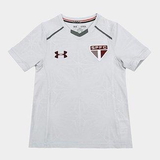 Camisa de Treino São Paulo Infantil 17 18 Under Armour 1aa2204150216
