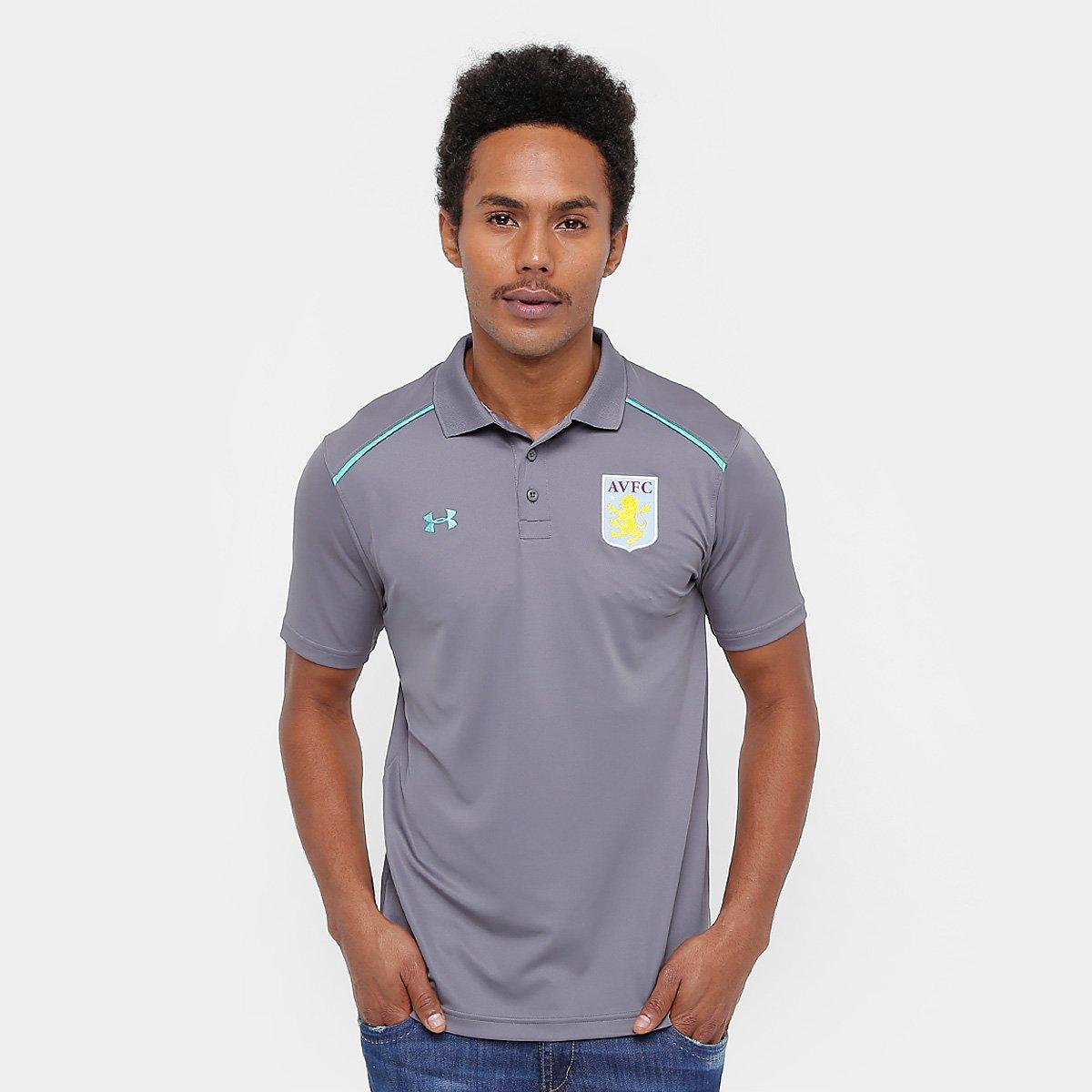 Camisa Polo Aston Vila Under Armour Masculina 278ac2d41d894