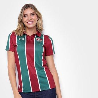 4bd3d1dc1fc Camisa Fluminense I 19 20 s n° Torcedor Under Armour Feminina