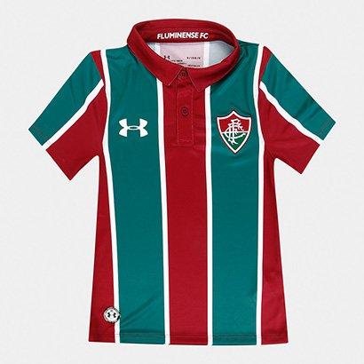 Camisa Fluminense Infantil I 19/20 s/n° Torcedor Under Armour