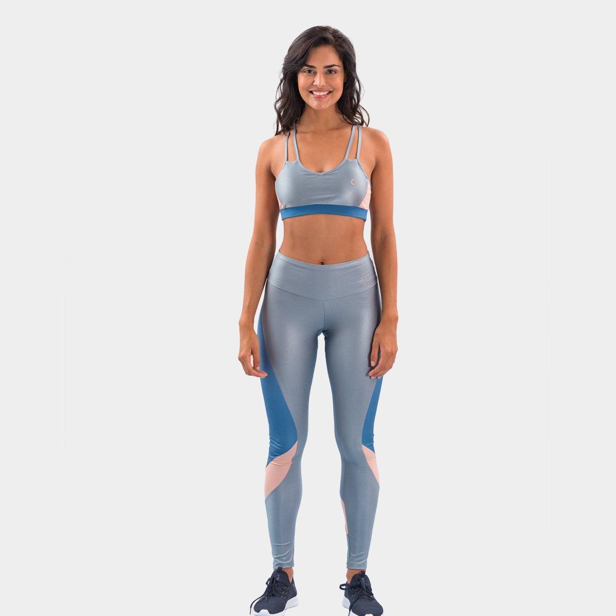 Calça Legging Área Sports Load Feminina - Tam: GG - 2
