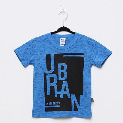 Camiseta Infantil Pulla Bulla Jet Urban Masculina